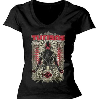 Turisas Tribal Warrior Ladies Vneck