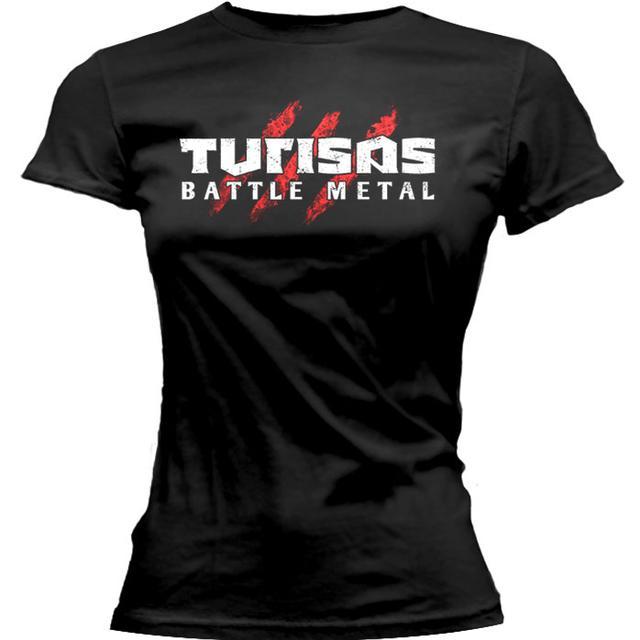 Turisas Logo / Battle Metal Ladies Tee