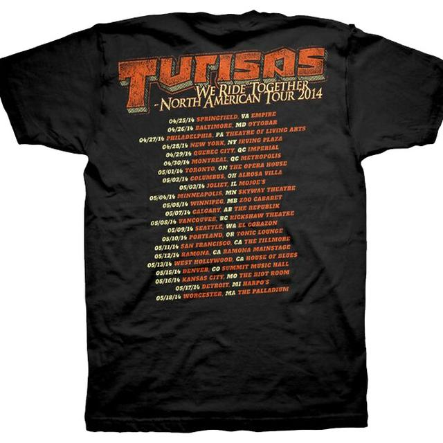 Turisas We Ride Tour T-shirt