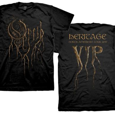 Opeth VIP 2011 Root Logo