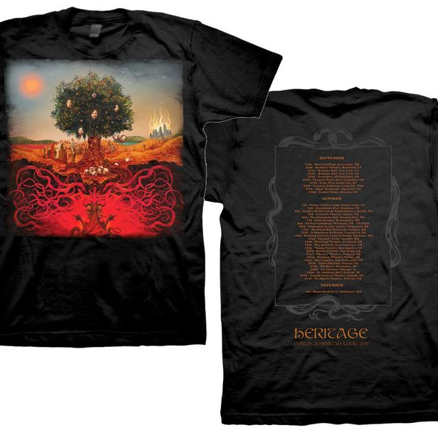Opeth Heritage Tour T-shirt