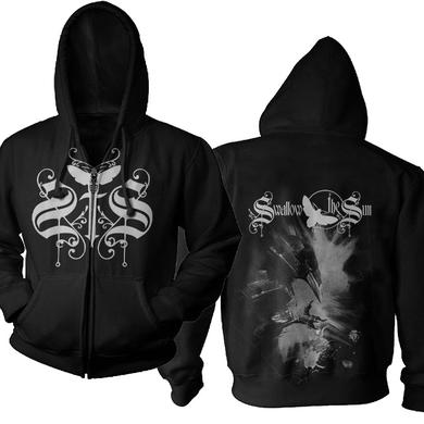 Swallow the Sun Blackbird Zip Hoodie T-Shirt