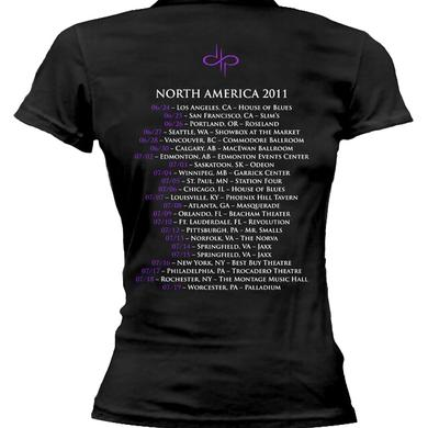 Devin Townsend Project Key - NA Tour Dates Girly Tee