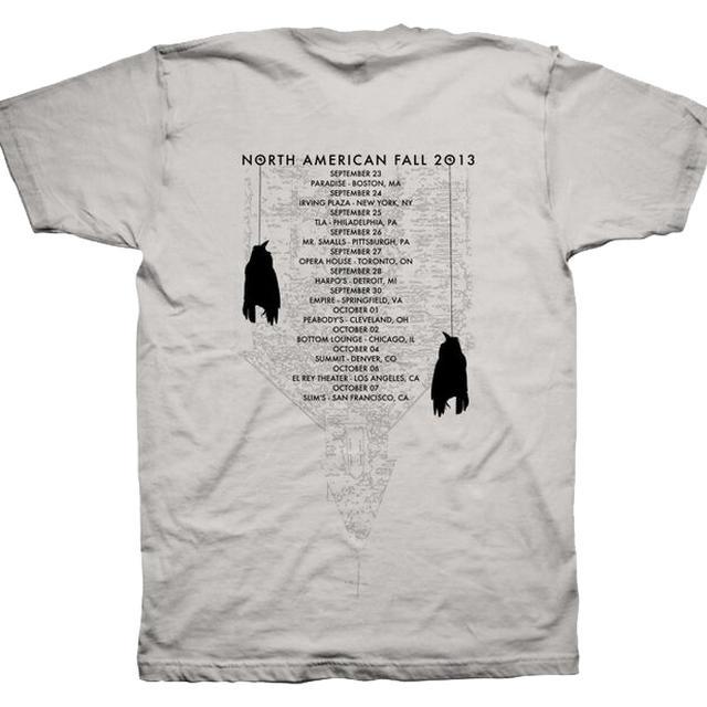 Katatonia Dead End Prayers Tour Dates Tee