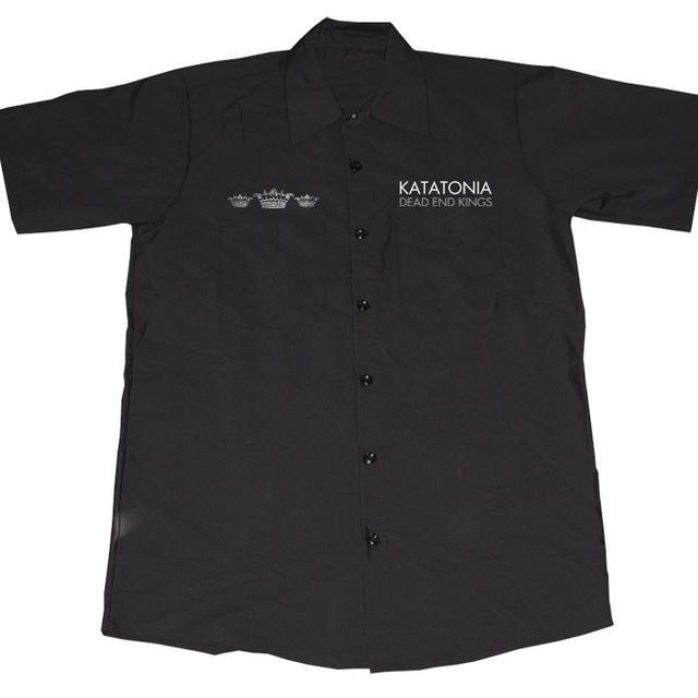 Katatonia Embroidered Logo Work Shirt