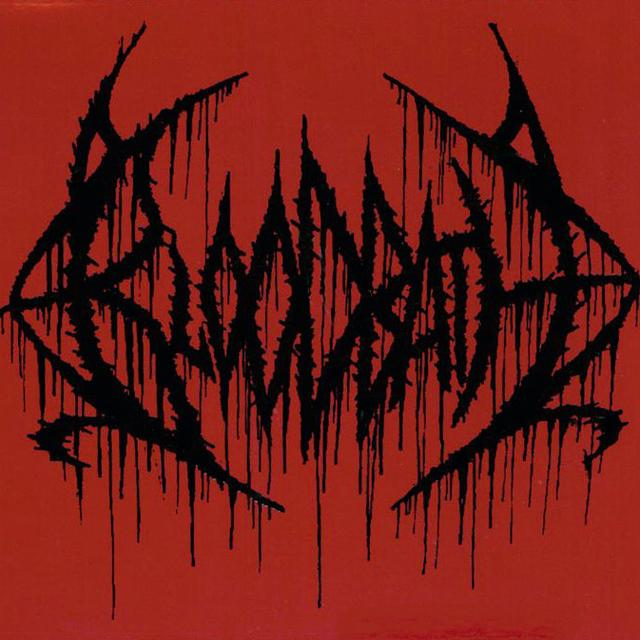 Bloodbath Logo Red Sticker