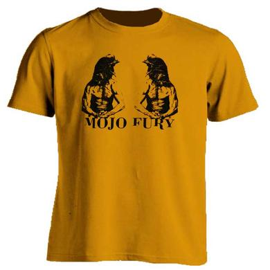 Mojo Fury Double Chicken Head T-Shirt