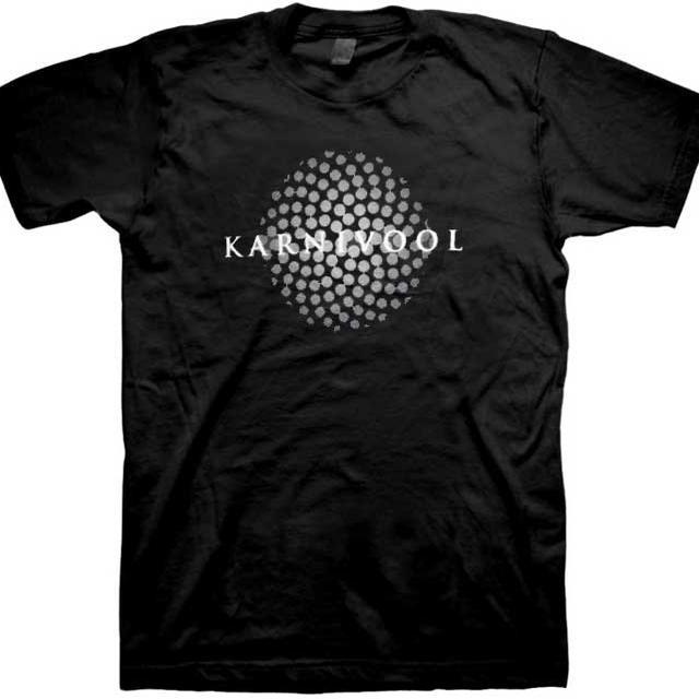 Karnivool Grey Dot Sphere T-Shirt
