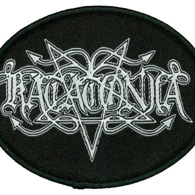 Katatonia Pentagram Logo Oval Patch