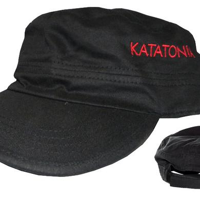 Katatonia Embroidered Logo Military Cap