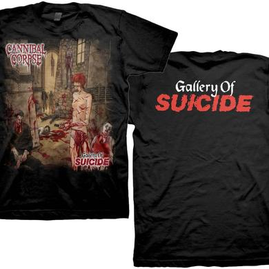 Cannibal Corpse Gallery Of Suicide T-Shirt