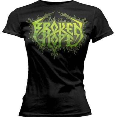 Broken Hope New Logo Ladies Tee