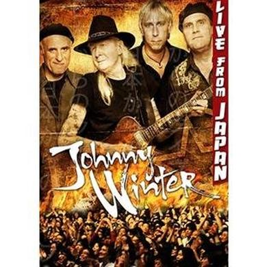 Johnny Winter Live in Japan DVD