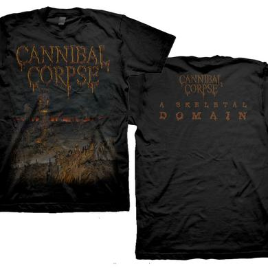 Cannibal Corpse Skeletal Domain Cover T-Shirt