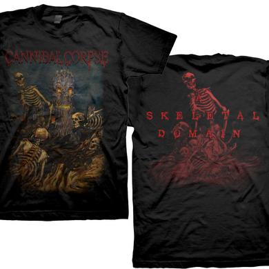 Cannibal Corpse Skeletons Tree - A Skeletal Domain T-Shirt