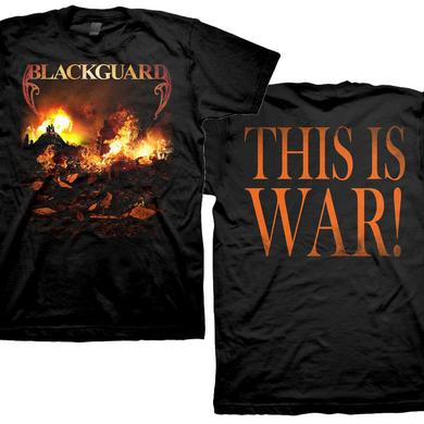 Blackguard Burning City - This is War T-Shirt