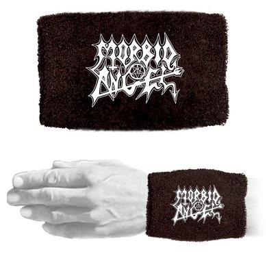 Morbid Angel White Logo Wristband
