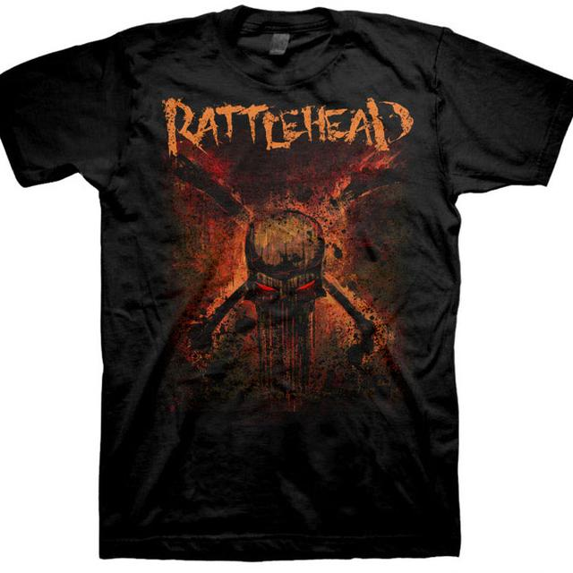 Rattlehead Skull T-Shirt