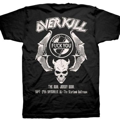 Overkill WDA Tour Tee - Sayreville, NJ