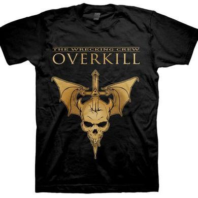 Overkill WDA Tour Tee - Hockey Mask Sayreville, NJ