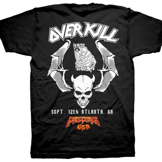 Overkill WDA Tour Tee - Atlanta, GA