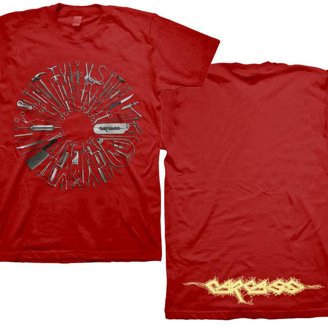 Carcass Surgical Remission Red Tee