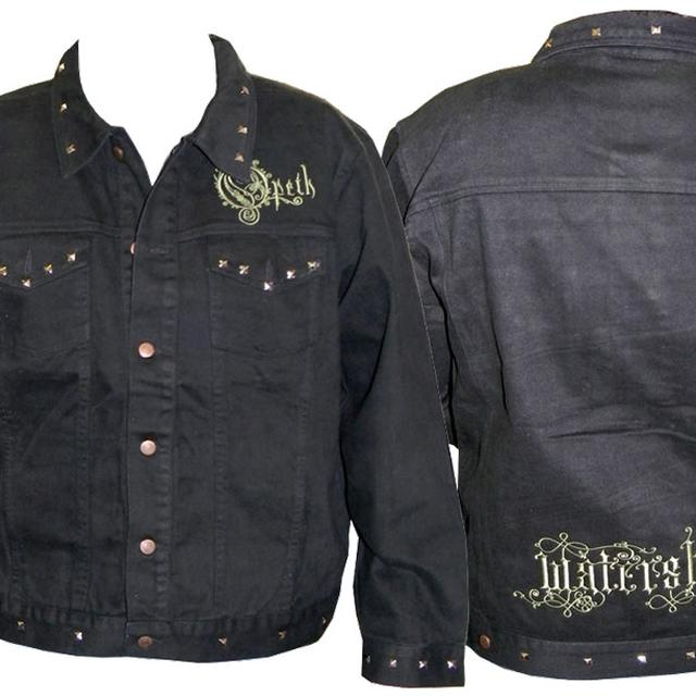 Opeth Embroidered Logo Jean Jacket