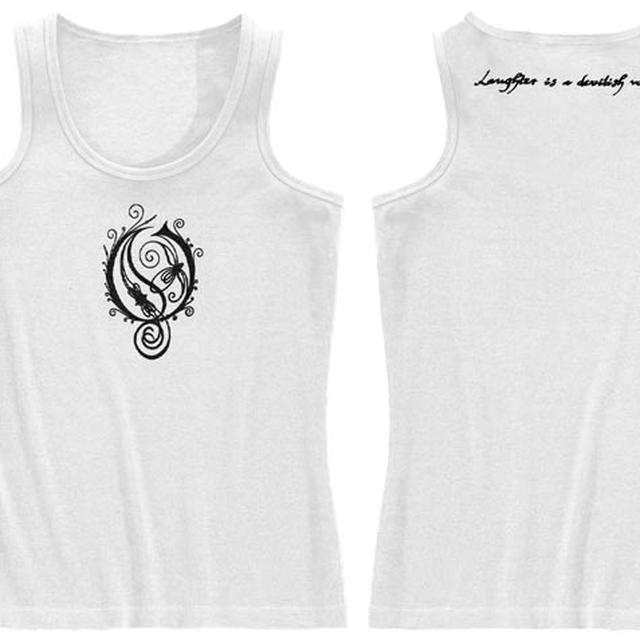 Opeth O Logo - Devilish Laughter Ladies Tank Top