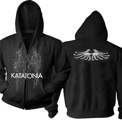 Katatonia Deliberation Black Zip Hoodie