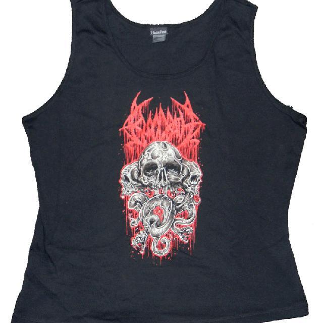 Bloodbath Skulls Ladies Tank Top