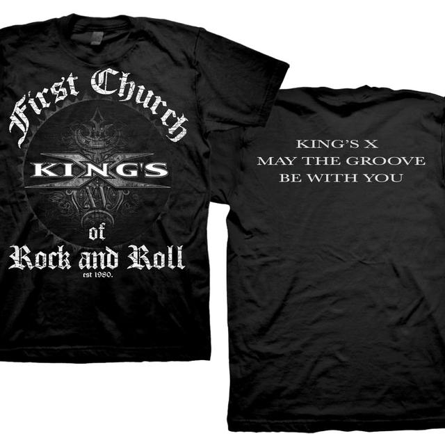 Kings X First Church Of Rock and Roll T-Shirt