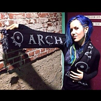 Arch Enemy Scarf
