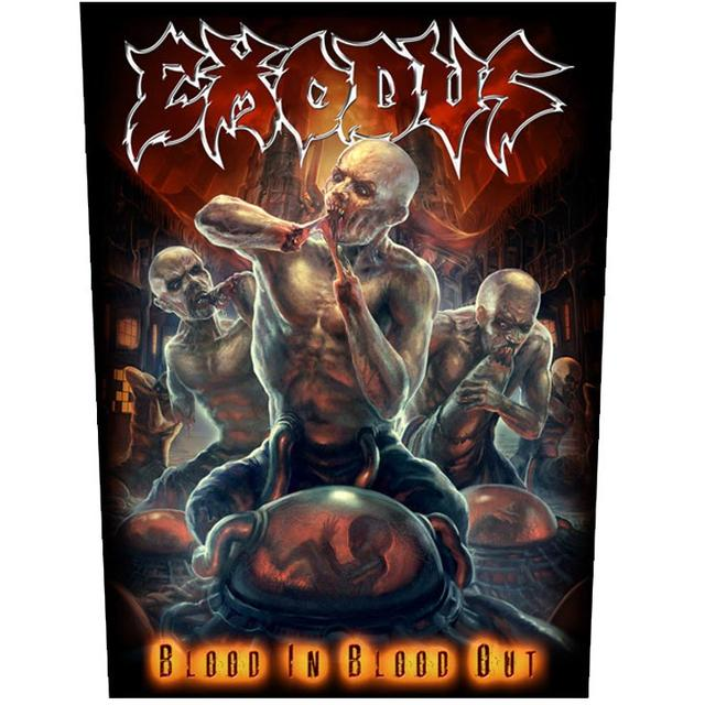 Exodus Blood In Blood Out Back Patch