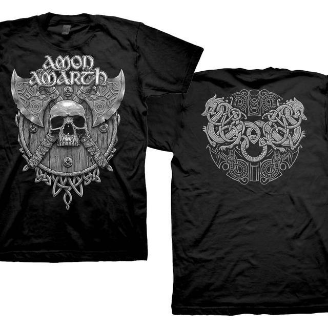 Amon Amarth Grey Skull