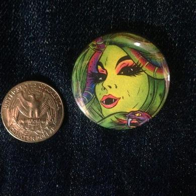Dirty Donny Witch 1.5in Button