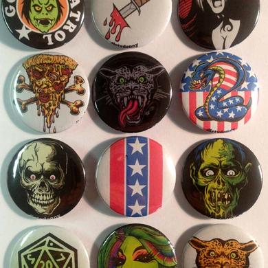 Dirty Donny Pizza Death 1.5in Button