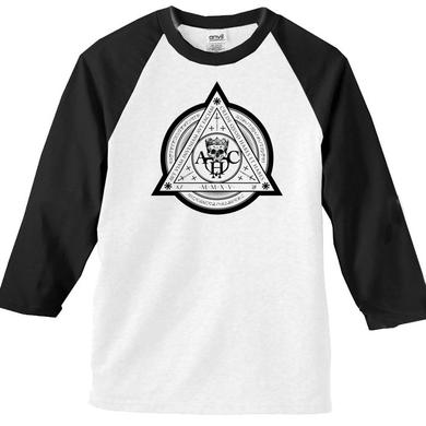 American Head Charge MMXV White/Black Raglan