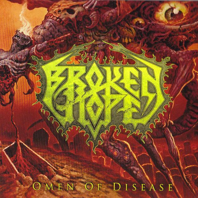 Broken Hope Omen Of Disease CD/DVD Digipak