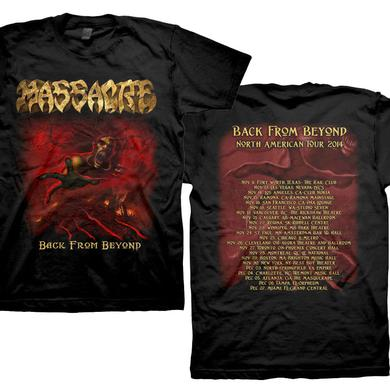 Massacre Back From Beyond - 2014 Tour Dates