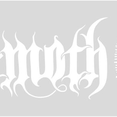 Behemoth Sigil Logo Window Decal