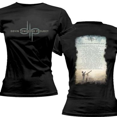 Devin Townsend Project Logo Blue Skies Ladies