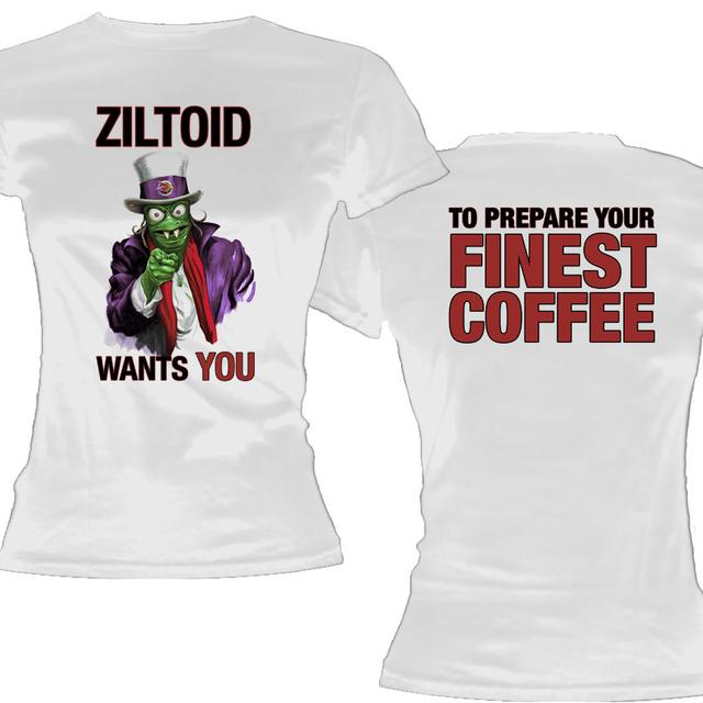 Devin Townsend Project Uncle Ziltoid Ladies Tee