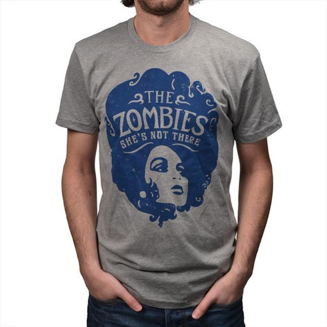The Zombies Shes Not There Grey T-Shirt