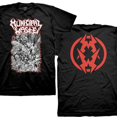 Municipal Waste Undead Band T-Shirt