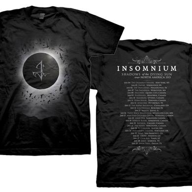 Insomnium Shadows of the Dying Sun Tour Dates Tee