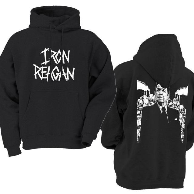 Iron Reagan Logo / Backdrop Pullover Hoodie