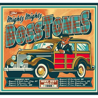 Mighty Mighty Bosstones Way Out West Tour Lithograph