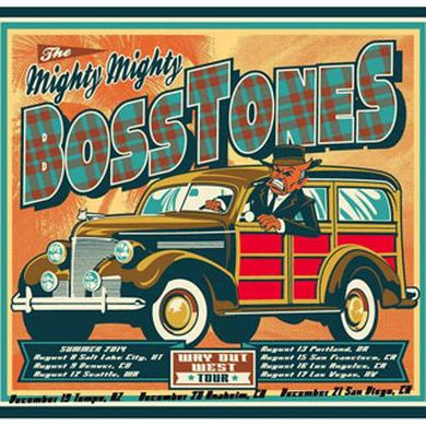 Mighty Mighty Bosstones Way Out West Tour - Revised Dates Lithograph