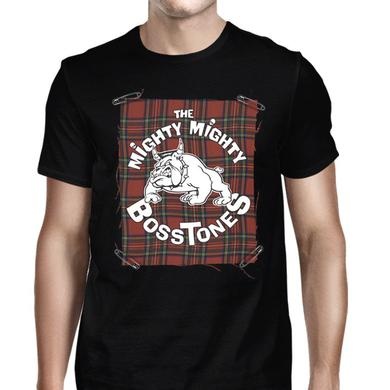 Mighty Mighty Bosstones Plaid Badge Boys Boston T-Shirt