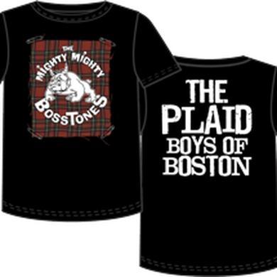 Mighty Mighty Bosstones Plaid Badge Boys Boston T-Shirt